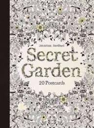 Books Kinokuniya Secret Garden 20 Postcards POS Basford