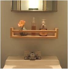 Oak Bathroom Wall Cabinet With Towel Bar by Bathroom Wooden Shelves Descargas Mundiales Com