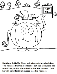 Halloween Coloring Pages For Church Inside Christian