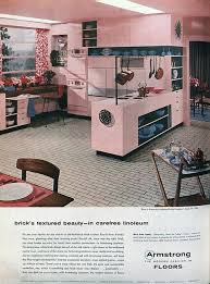 Better Homes Gardens Armstrong Kitchens Ad Although My Dream Kitchen Would Be Pink This Benefit From A Complimentary Color So It Looked Less Like