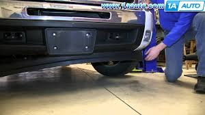 How To Install Replace Front Lower Spoiler Air Dam 2007-13 Chevy ...
