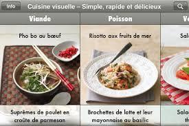 cuisine visuelle application cuisine visuelle simple rapide et delicieux iphonote