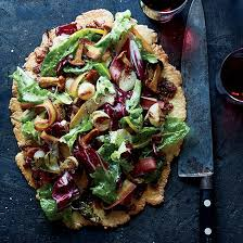 Free Form Autumn Vegetable Tart With Bacon Marmalade