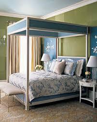 Sage And Blue Bedroom