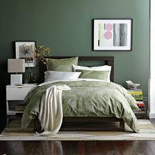 Earthy Bedroom In Green