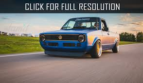 100 Rabbit Truck Slammed Vw
