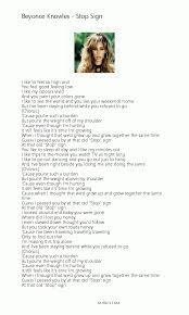 Beyonce Knowles - Stop Sign Lyrics, Pdf - 12lyrics Killing Time Clint Black Song Lyrics Pinterest Music Lyrics The Fairly Oddparents Theme Odd Parents Wiki Fandom Shawntaylortunescomlyrics Folk Songs With Alisha Gabriel Free Educational Toddler Learning Videos Online Fun Beyonce Knowles Stop Sign Pdf 12lyrics South African Ice Cream Truck Youtube Songbook Suzi Shelton Ukule Chords Rock New Love Song For Give Me E Reason Tracy 5 Little Pumpkins Sitting On A Gate