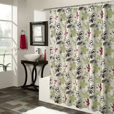 Kohls Double Curtain Rods by Masculine Shower Curtains Home Classics Luxury Fabric Shower