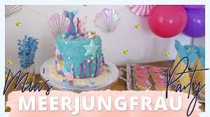 s meerjungfrau kindergeburtstag torte weekly vlog 3 jackielina