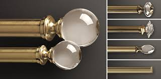 Restoration Hardware Estate Curtain Rods by Custom Hardware Collections Rh