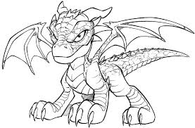 Printable Dragon Coloring Chinese Preschoolers