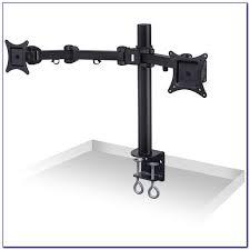 Vesa Desk Mount Arm by Ergo Lynx Dual Vesa Monitor Arm Stand Desk Mount Desk Ideas