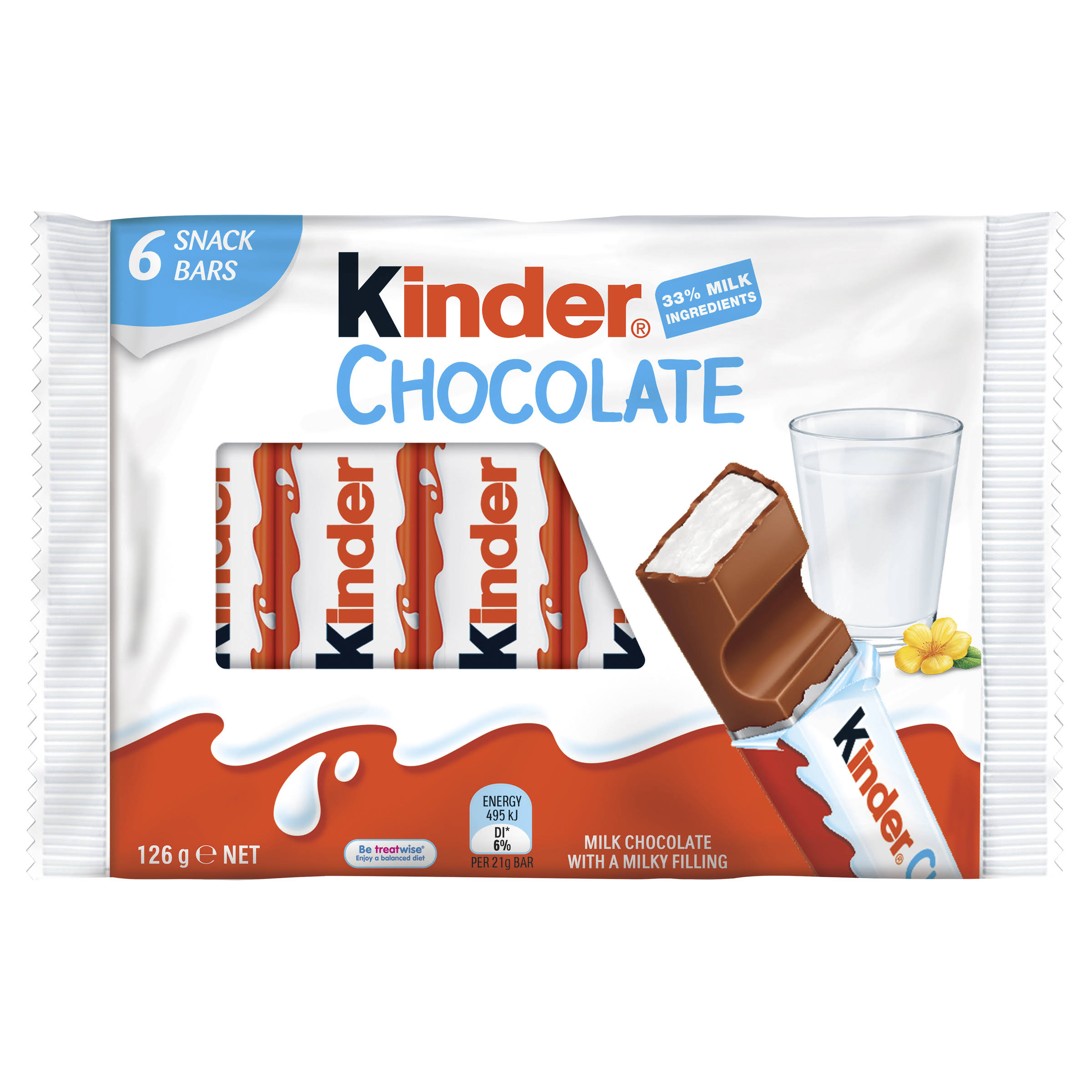 Kinder Chocolate Bars - 21g
