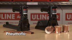 Uline Pneumatic And Manual Staplers