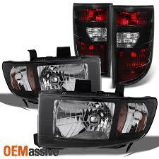 06 08 honda ridgeline black headlights lights