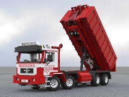 100 Armored Truck Jobs MAN 8x4 Hook Lift Skip Tipper Lego Technic Model Millenium