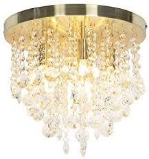 qazqa deco klassische deckenleuchte deckenle le leuchte gold messing mit glas medusa wohnzimmer schlafzimmer küche rund