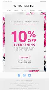 Thank You Email From Whistlefish - Sent To Loyal Customers #Email ... Up To 20 Off With Overstock Coupons Promo Codes And Deals For Overnightprints Coupon Code August 2019 50 Free Delivery Email For Easter From Printedcom Cluding Countdown Snapfish Au Online Photo Books Gifts Canvas Prints Most Popular Business Card Prting Site Moo 90 Off Overnight Coupons Promo Discount Codes Awesome Over Night Cards Hydraexecutivescom Smart Prints Coupon Online By Issuu Bose 150 Discount Blog Archives