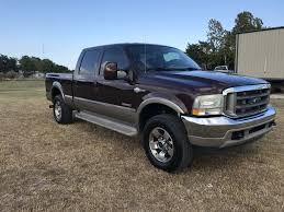 2004 Ford F250 4x4 Crewcab Swb King Ranch For Sale In Greenville, TX ...