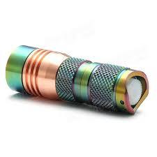 vente chaude portable le torche 1600lm étanche zoomables led
