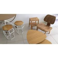 Eames LCW (56cm) Molded Plywood Easy Chair (replica)