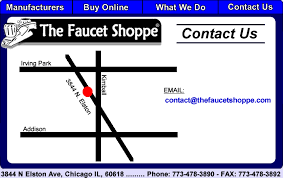 the faucet shoppe contact information