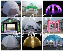 Halloween Inflatable Arch by Custom Giant 8m Diameter Inflatable Canopy Tent Outdoor Camping