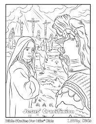 JesusCrucifixionBSFL Download Jesus Crucifixion Coloring Page