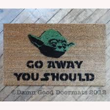 Star Wars Room Decor Walmart by Go Away Synonyms Coco Doormat Amazing Funny Doormats Ideas Free