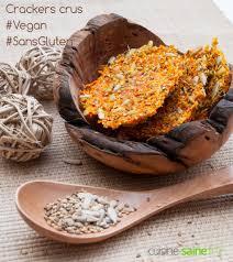 cuisiner cru 70 recettes food crackers de légumes crus utiliser la pulpe de l extracteur