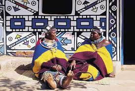 Ndebele Women In Traditional Garb