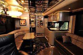 LUXURY MOTORHOMES INTERIOR