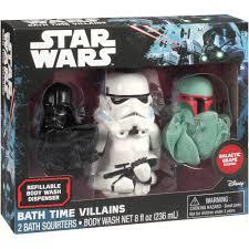 Disney Character Bathroom Sets by Disney Star Wars Bath Time Villains Set 3 Pc Walmart Com
