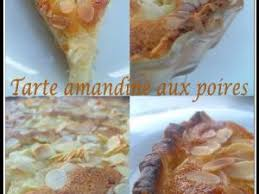 tarte amandine aux poires par sandrinecuisine