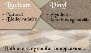 Natural Or Artificial Linoleum Flooring Vs Vinyl