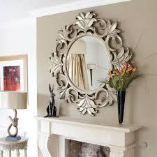 Wayfair Decorative Wall Mirrors by Latitude Run Round Gray Decorative Wall Mirror Reviews Wayfair