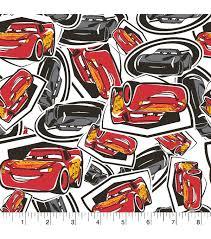 Kids U0027 Easels U0026 Drawing by Disney Cars 3 Flannel Fabric 42 U0027 U0027 Tossed Mcqueen U0026 Storm Joann