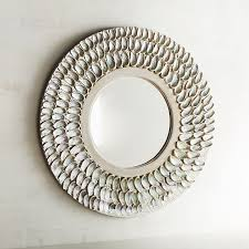Pier One Dressing Mirror by Abalone Shell 32