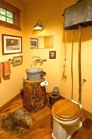 Rustic Style Bathrooms Western Bathroom Decor