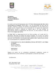 Nos Invitan A La FILUC 2011 La Librería Mediática