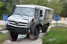 100 Unimog Truck MercedesBenz Review Pro Pickup 4x4