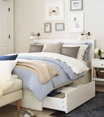 malm bed frame with 4 storage drawers ikea malm bett
