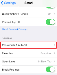 How to Clear Autofill on iPhone