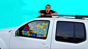 100 Balls For Truck BALL PIT BALLS PRANK Filled His With Ball Pit YouTube