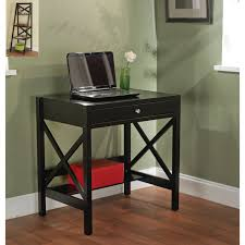 Computer Desks For Small Spaces Canada by Amazon Com Simple Living Best Choice Wooden Black Writing Desk