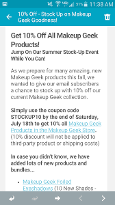 10% Off Makeup Geek Products! – Glam Necessities