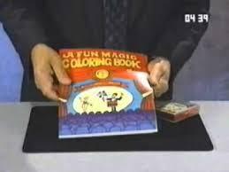 Magic Coloring Book And Vanishing Crayons Magic Trick