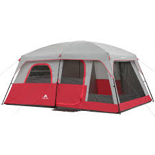 Coleman Tent Floor Saver by Ozark Trail 9 Person 2 Room Instant Cabin Tent With Screen Room