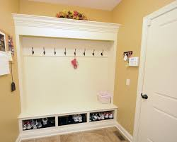 Entrance Hall Storage Mudroom Benches With Within Mud Room Bench