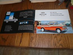 1960 Fargo Model Low Tonnage Sales Brochure And 34 Similar Items